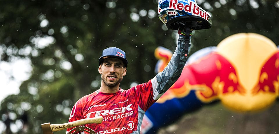 Gee Atherton Wins Red Bull Hardline 2018