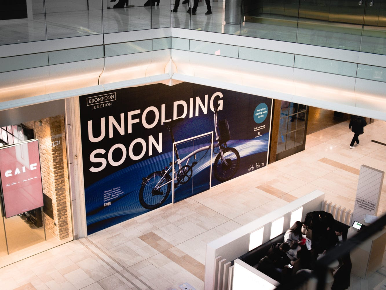 Brompton Bicycle to Open New Flagship Store in Westfield London