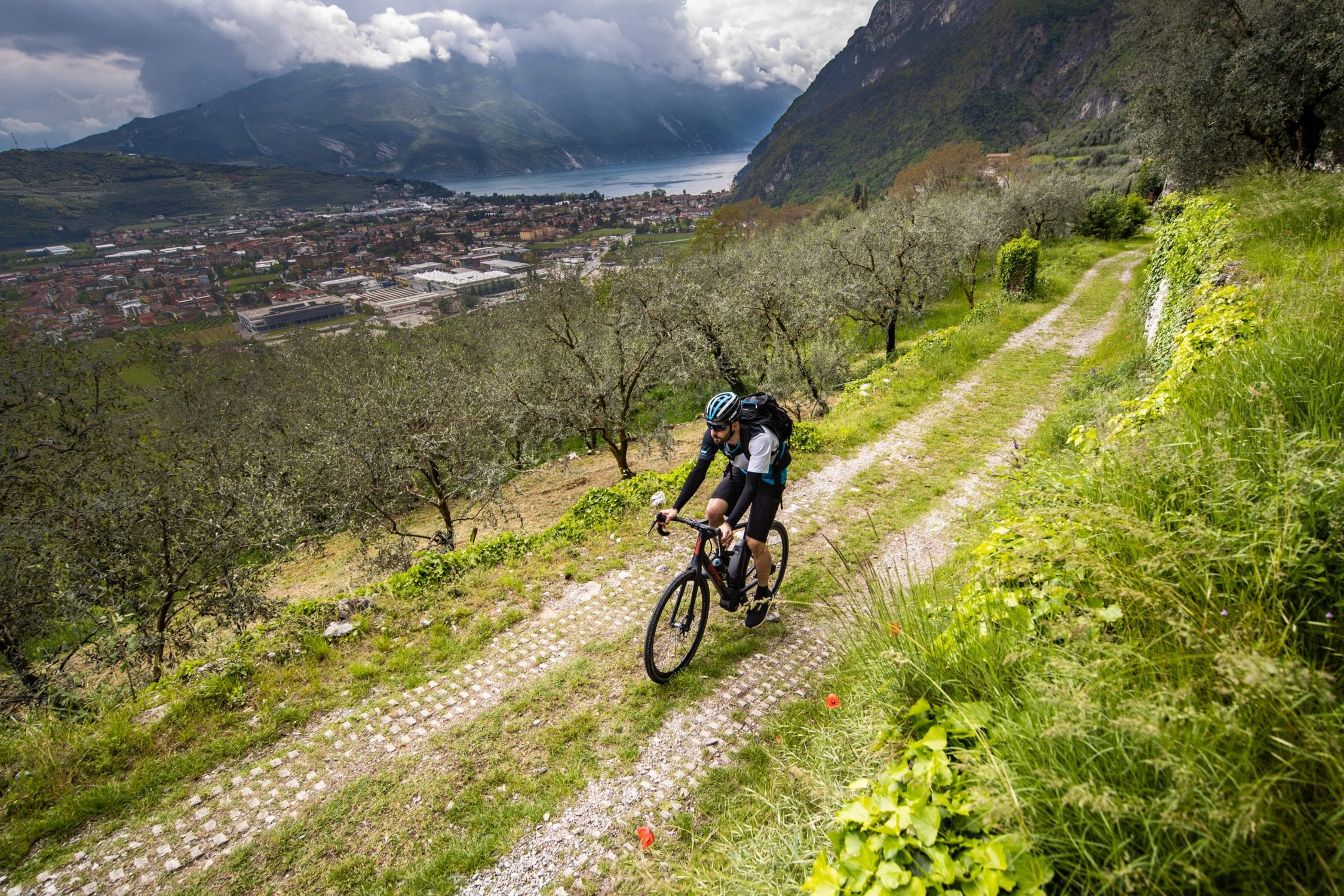 Taking An E-Bike Further, Shimano & Lake Garda