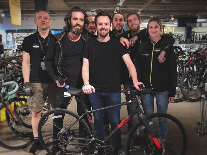 Getting Geraint Thomas on a Bike This July