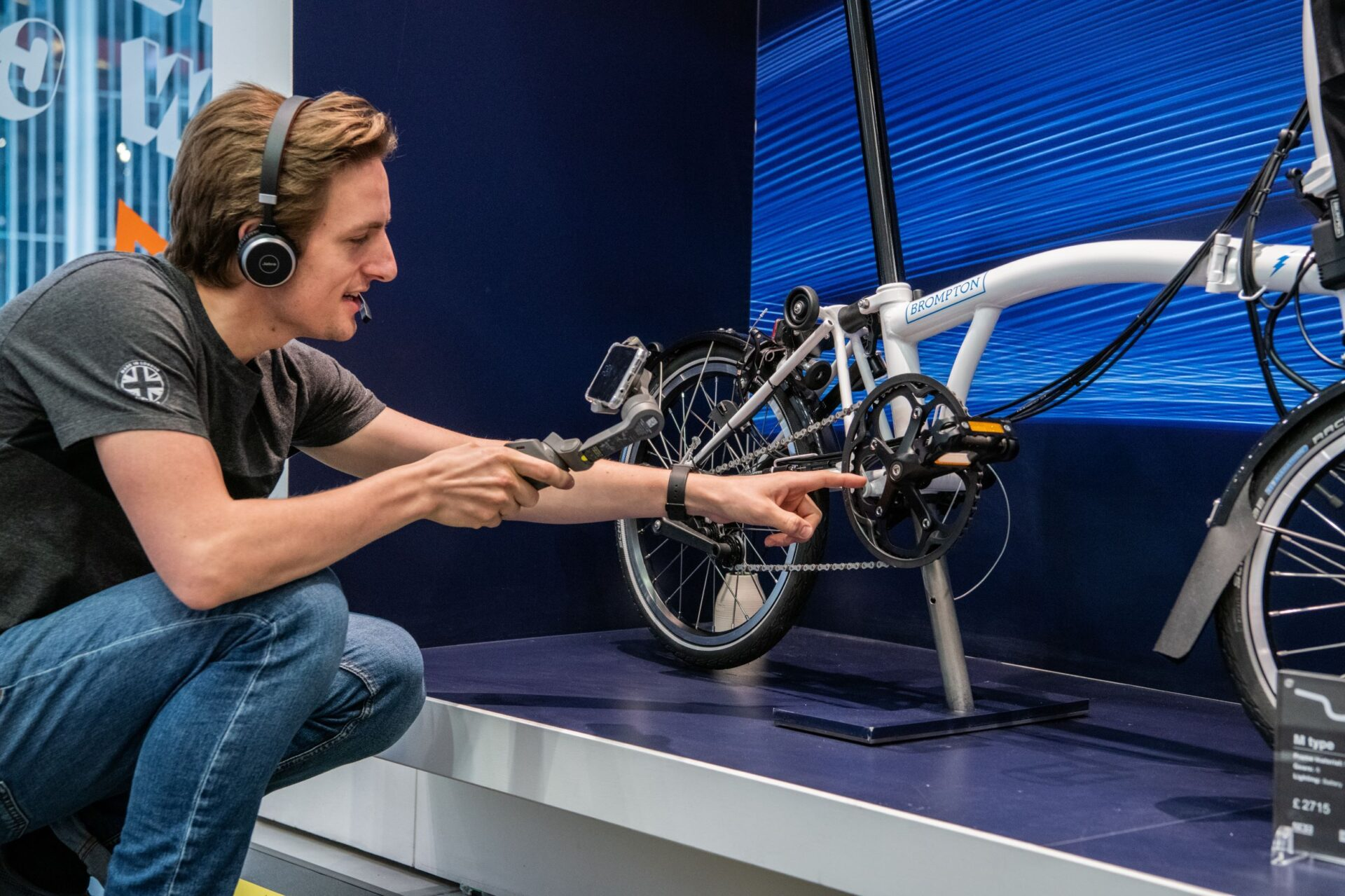 Brompton Bicycle Launch Virtual In-Store Video Service