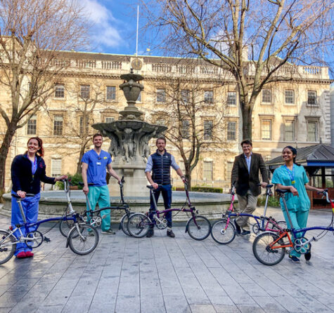 Brompton – 200 Bikes for NHS Workers