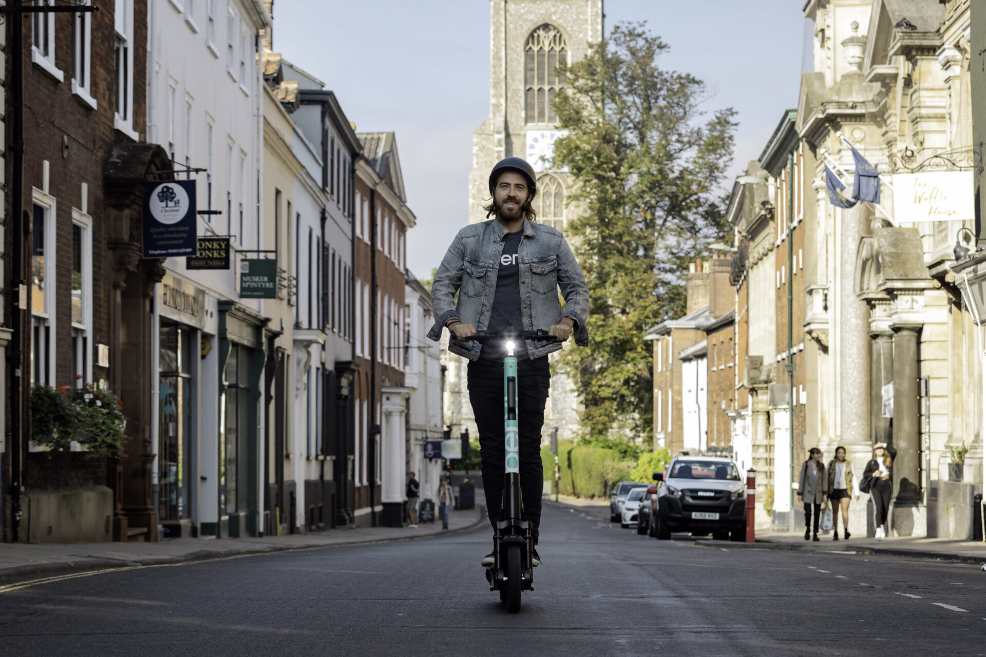 Take That Journey A Greener Way – Beryl E-Scooters Arrive In Norwich